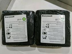 LOT of 2 GENUINE HONEYWELL CARBON Grade A PRE-FILTER Air Pur