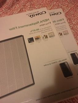 Coway MASK2 Air Purifier Replacement HEPA Filter  Lot Of 2 N