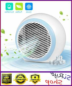 Mini Air Conditioner, Air Space Cooler with Humidifier and A