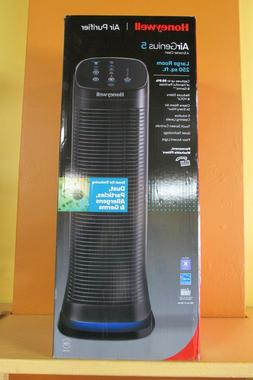 NEW Honeywell AirGenius 5 Large Room Air Purifier HFD320 Bla