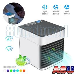 Portable Air Conditioner Cooler Small Mini 3 Modes 7 Colors