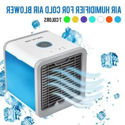 Portable Mini Air Conditioner Cooling Fan, Humidifier, and P