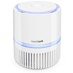 Pro Breeze Mini Air Purifier with True HEPA Filter and Night