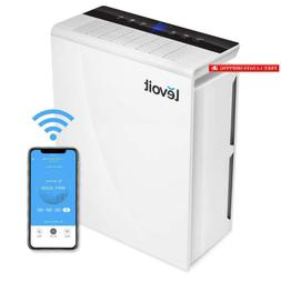 smart wifi air purifier for home large