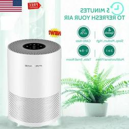 Table HEPA Filter Air Purifier Cleaner Remove Odor Mold for